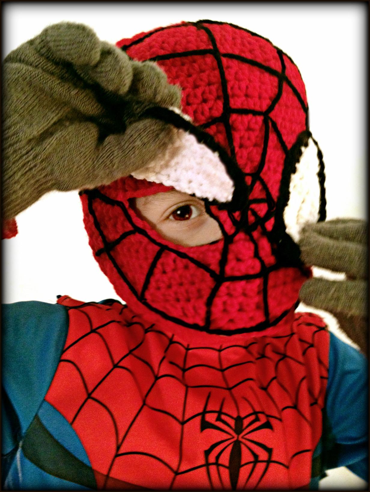 For My Superhero: Spiderman Mask | mellie blossom