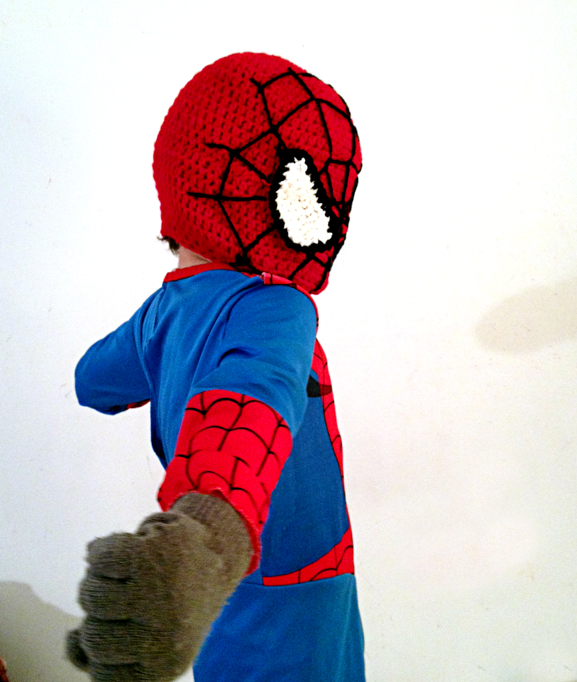 Spiderman Crochet Mask | mellie blossom