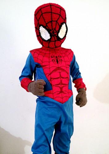 For My Superhero Spiderman Mask Mellie Blossom