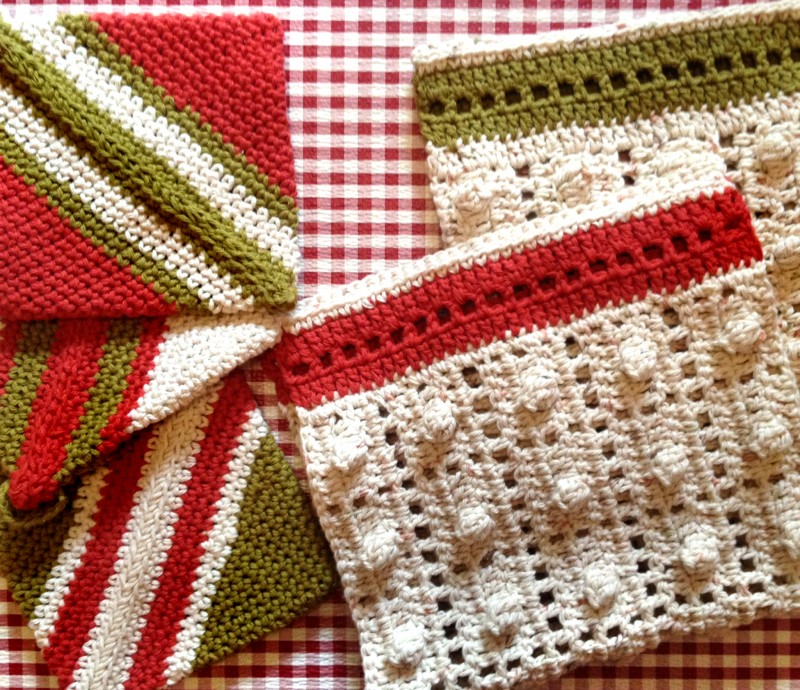 Crochet Patterns Kitchen Towels : Kelsey Crochet Kitchen Towels - mellie blossom
