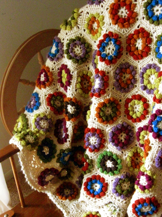 Crochet Afghans : crochet projects that I?ve ever made is my vintage crochet afghan ...