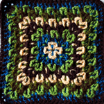 Crochet Fireworks Surprise Square