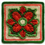 Crochet Kale Square