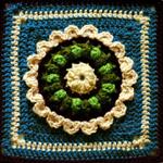 Crochet Promise Petals Square