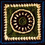 Crochet Sundial Square