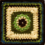 Crochet Sweet Buttercup Square