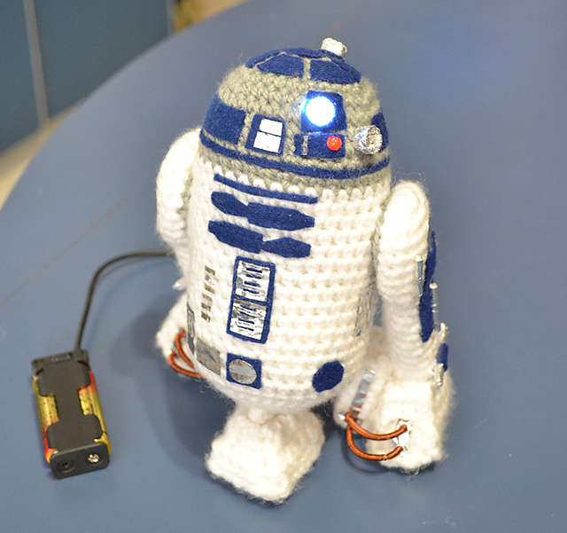Crochet Gifts for Men - Mini R2D2