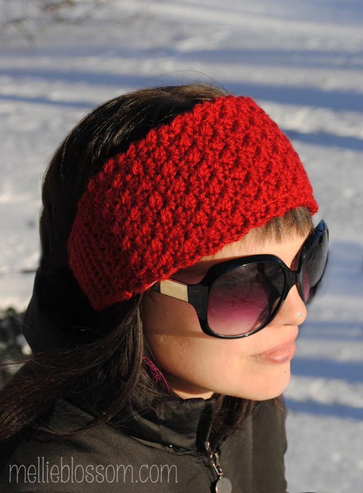 Crochet Headband For Winter Mellie Blossom