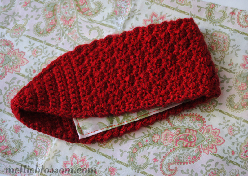 Crochet Headband for Winter - mellie blossom