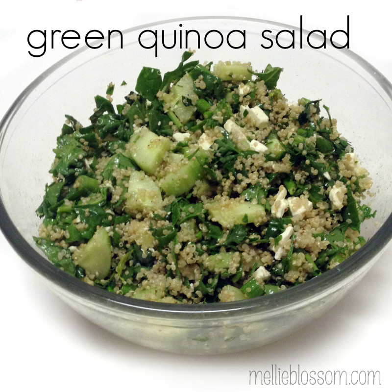 Green Quinoa Salad Recipe