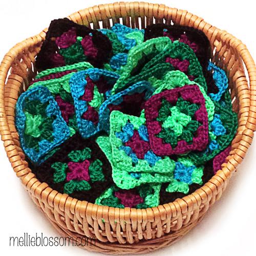 Crochet Along Squares