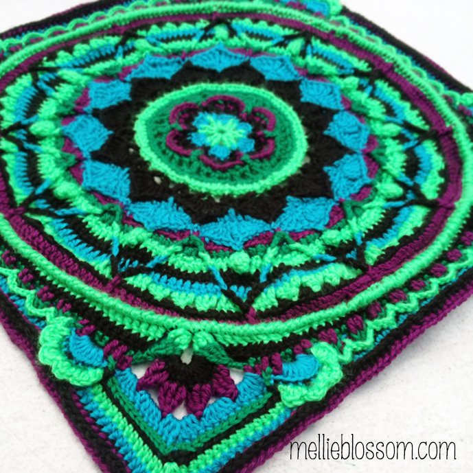Finished Crochet Mandalas Mellie Blossom Inspiration Free Crochet Mandala Pattern