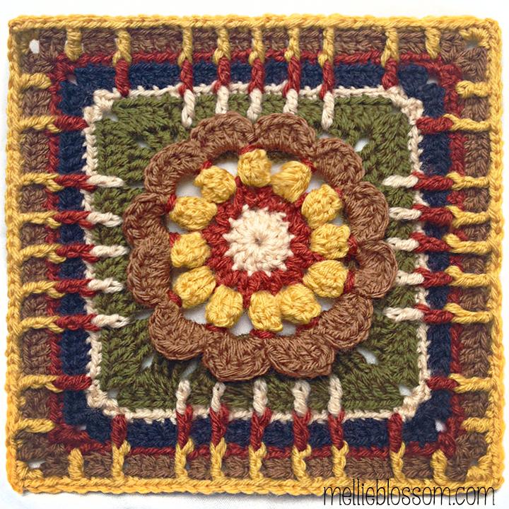 Vanna's Choice Crochet Along Squares - mellieblossom.com