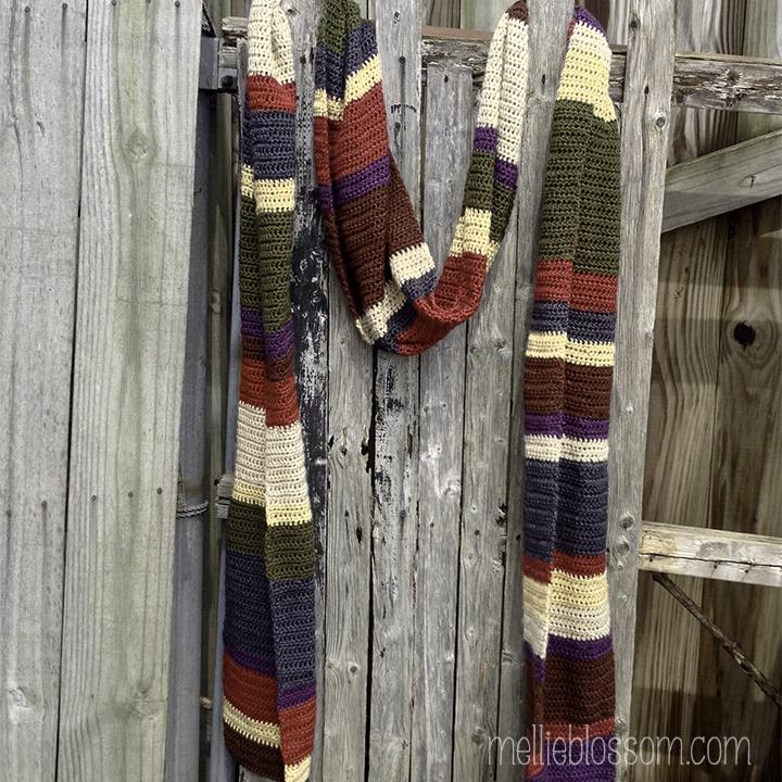 Dr. Who Crochet Scarf - mellieblossom.com