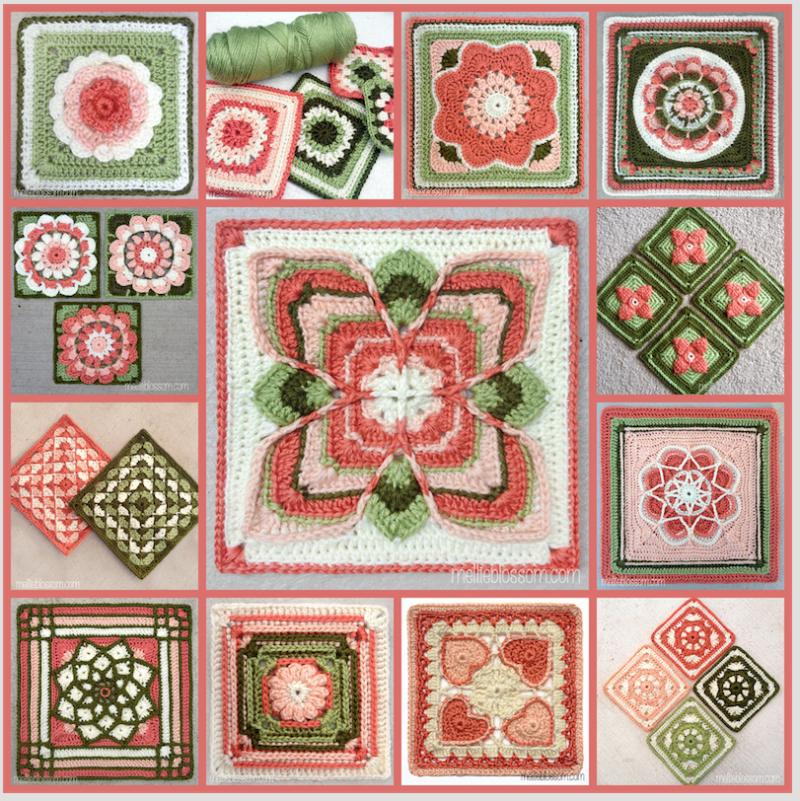 What S New In Crochet: Happy New Year! 2016 Crochet Alongs