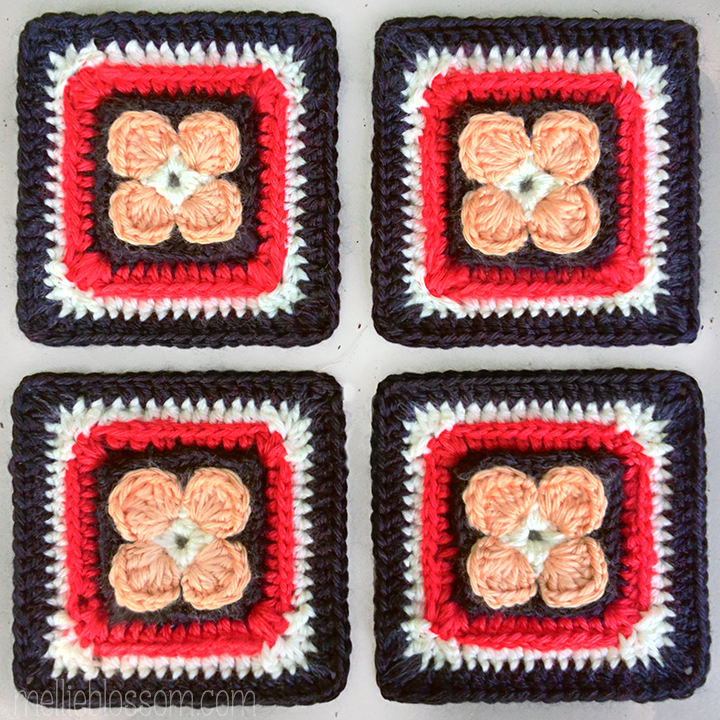 2016 Crochet Along Squares - Lest We Forget Crochet Square - mellieblossom.com