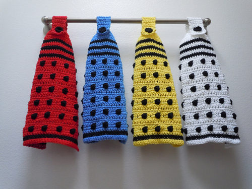 Doctor Who Dalek Hanging Towel
