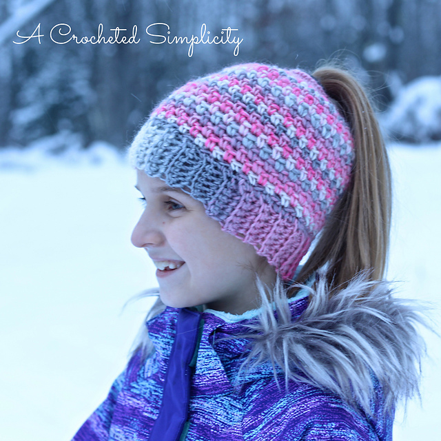 Crochet Trends - Bun Hats